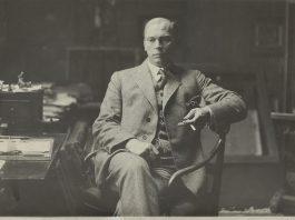 Olaf Bull (foto: Nasjonalbiblioteket)